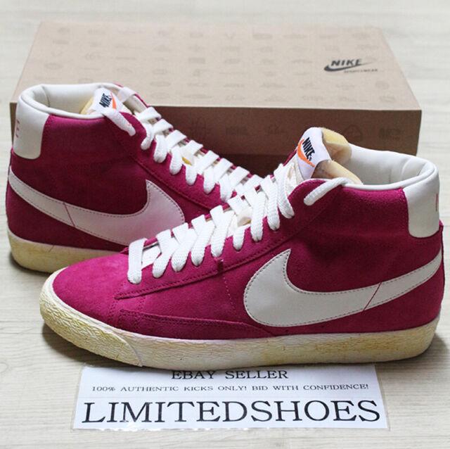 Nike Blazer High Suede Voltage Cherry