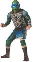 Teenage Mutant Ninja Turtles Deluxe Muscle-chest Leonardo Costume, Child Large on sale