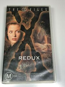 The-X-Files-VHS-Video-Tape-x3-Titles-GETHSEMANE-REDUX-REDUX-II-File-9
