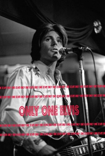 1970s RICK NELSON Photo Close-Up IN CONCERT Playing GUITAR on STAGE ROLL ONE 02