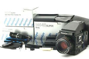 Nuovo di zecca +++ in scatola Mamiya M645 SUPER CORPO CON LENTE 80mm C f/2.8 dal Giappone