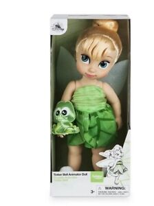 16 Inch new Disney Animators/' Collection Tinkerbell Doll
