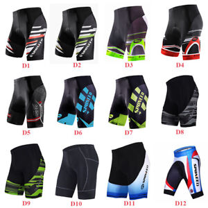 Bike Riding Shorts Mens Spinning Bicycle Tights Pants Short Biking Clothes M-3XL