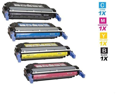 4 Color Toner Cartridge for HP LaserJet 4730 Printer Q6460A Q6461A Q6462A Q6463A