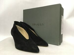 Hobbs-Tilda-Fine-Suede-Black-Boots-Various-Sizes-RRP-179