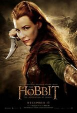 POSTER LO HOBBIT IL SIGNORE DEGLI ANELLI THE LORD OF THE RINGS FOTO TAURIEL #35