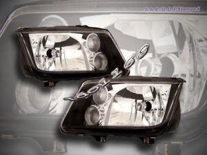 Image Is Loading 99 05 Volkswagen Jetta Headlights Jdm Black 00