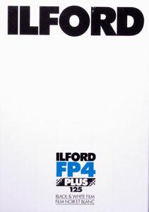Plan-film 5x7 Noir & Blanc - Ilford Fp4+ 5x7 125 Iso - 25 Plan-film Clair Et Distinctif