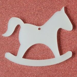 Rocking Horse 3mm MDF laser cut craft shapes Train various sizes available