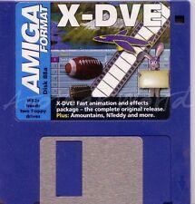 Amiga Format - Magazine Coverdisk 88a - X-DVE (Full Program)