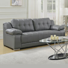 VARENNA Italian Inspired Hand-Tufted Leather Sofas 3 + 2 Seaters + Armchairs