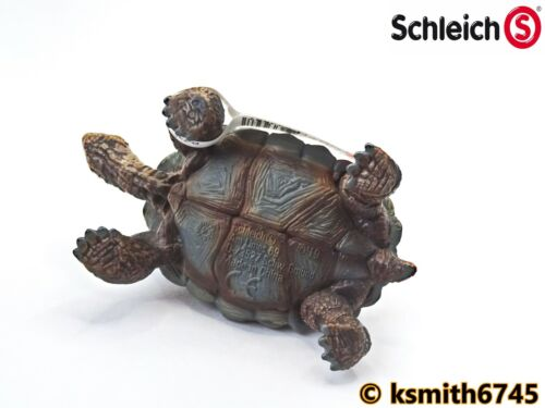 Schleich TORTOISE solid plastic toy pet wild zoo African animal reptile NEW