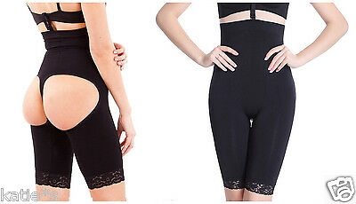 Full Body Lifter Waist Cinchers Shapers Extra Firm Tummy Thigh Control Girdles