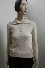 Rollkragenpullover Cremeweiß Pullover 70s True Vintage 70er NOS ungetragen OvP