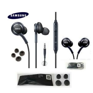 samsung akg ohrh rer kopfh rer headset galaxy s6 s7 edge s8 s8 s9 note 8 9 10 ebay. Black Bedroom Furniture Sets. Home Design Ideas