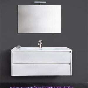 Mobile-bagno-sospeso-bianco-Federica-con-specchio-lavabo-illuminazione-LED