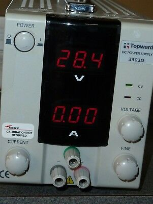 Topward 3303D 0-30V//0-3A Digital Power Supply