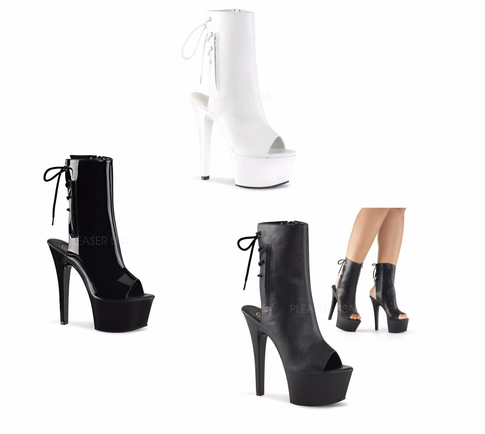PLEASER ASPIRE-1018 Exotic Dancing Platform Ankle Boot