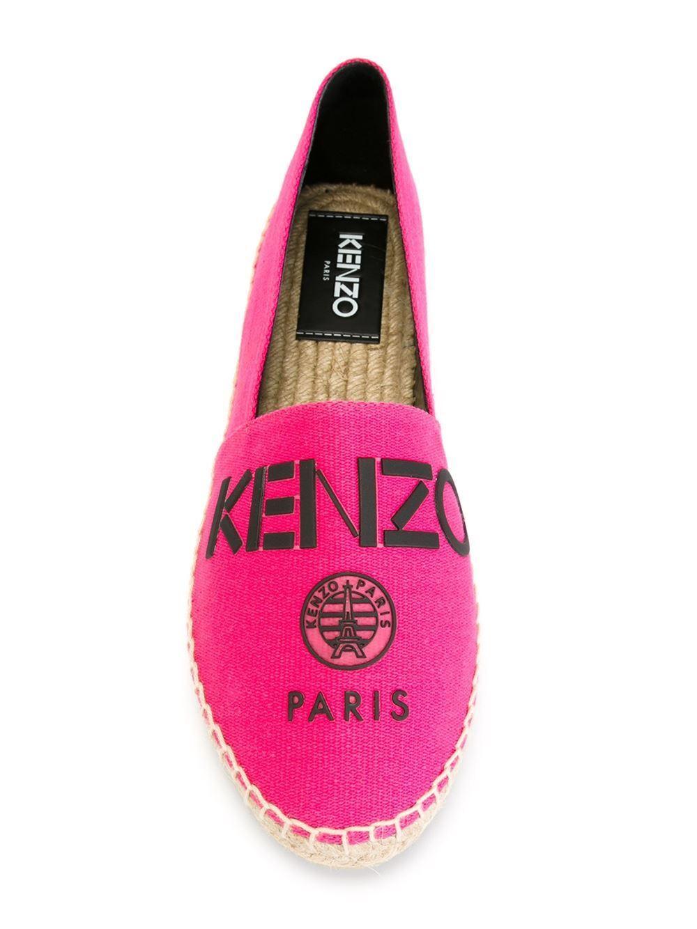 Kenzo Paris Pink New Espadrilles Schuhes, Größe EU37/UK4 - New Pink with box d21e89