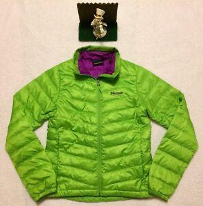 Neon Marmot Puffer Xs Duvet d'oie Green Veste Sz Fill Veste Purple Femme 700 gnxq8Rf