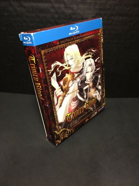 Trinity Blood: Complete Series (Blu-ray 3-Disc Set) Anime Collection