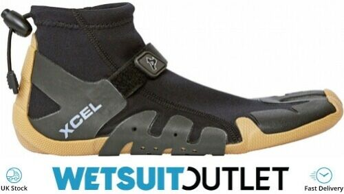 Xcel Infiniti 1mm Split Toe Reef Wetsuit Boot Boots Gum Black