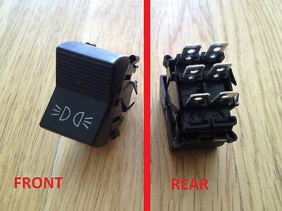 FIAT 124 125 3 interruttore della luce di posizione esterni 4218245