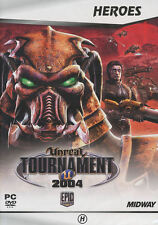 UNREAL TOURNAMENT 2004 Classic Shooter FPS PC Game - US Seller - NEW