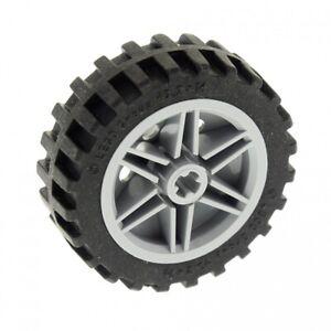 1x-Lego-Technic-Rad-43-2x14-Felge-neu-hell-grau-30x14-4539268-4541318-56904c01