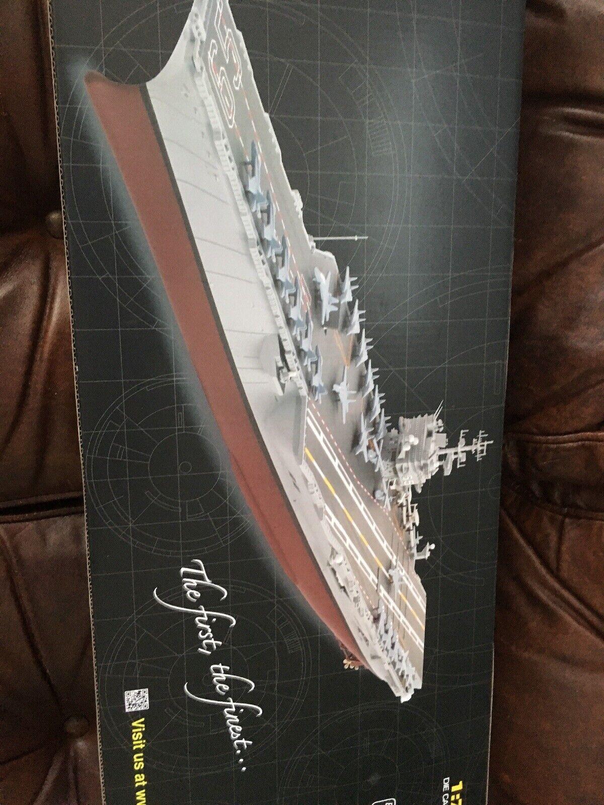 USS ENTERPRISE CVN-65 1 700 diecast model ship FOV