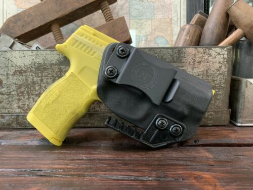 Sig P365 XL IWB Kydex Holster w// Claw ** adjustable Retention /& Cant
