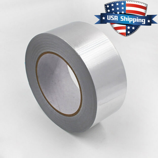 "2 7//8/""  Aluminum Foil Heat Shield Tape HVAC duct Heating A//C Sealing Adhesive"