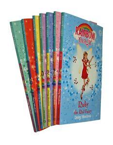 Rainbow-Magic-Fairies-7-Books-Pack-Daisy-Meadows-Colour-Fairy-Kids-Girl-New