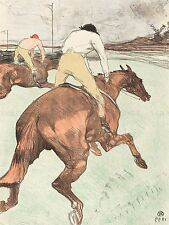 HENRI TOULOUSE LAUTREC FRENCH JOCKEY OLD ART PAINTING POSTER PRINT BB5651A
