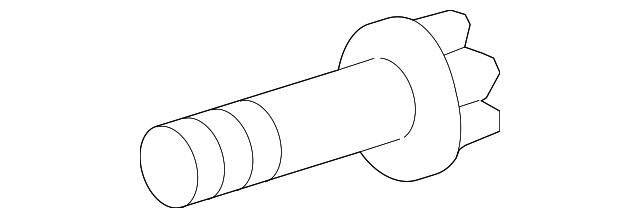 Hard-to-Find Fastener 014973124601 Starter Bolts Piece-4 10mm-1.50 x 45mm
