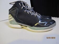 super popular b8ae7 a400b Adidas Mens Size 11 Derrick Rose 773 Navy Basketball Shoes Sneakers 2012  G56263