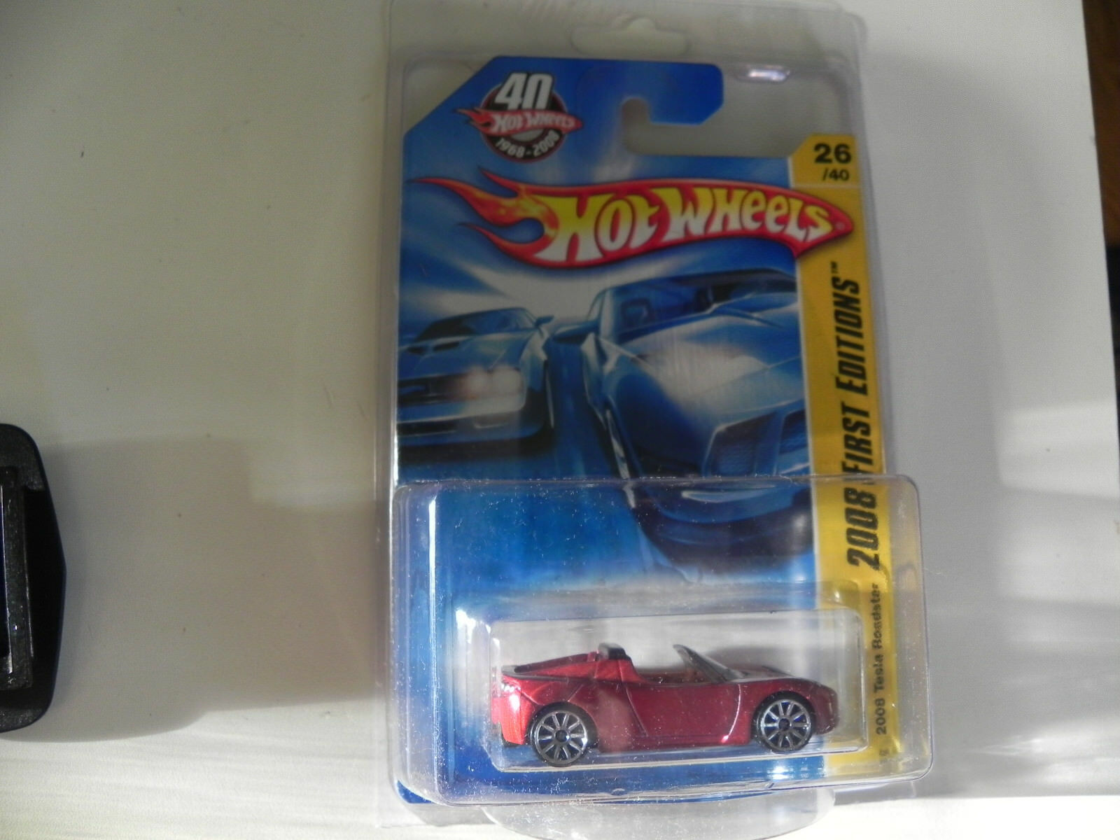 2008 tesla roadster first edition Hot Wheels