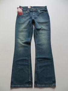 Levi-039-s-529-Bootcut-Jeans-Hose-W-28-L-32-NEU-Vintage-FLAT-STANLEY-Waschung