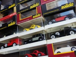SOLIDO-Age-d-039-Or-brand-new-miniature-vintage-historic-vehicle-car-scale-model-toy