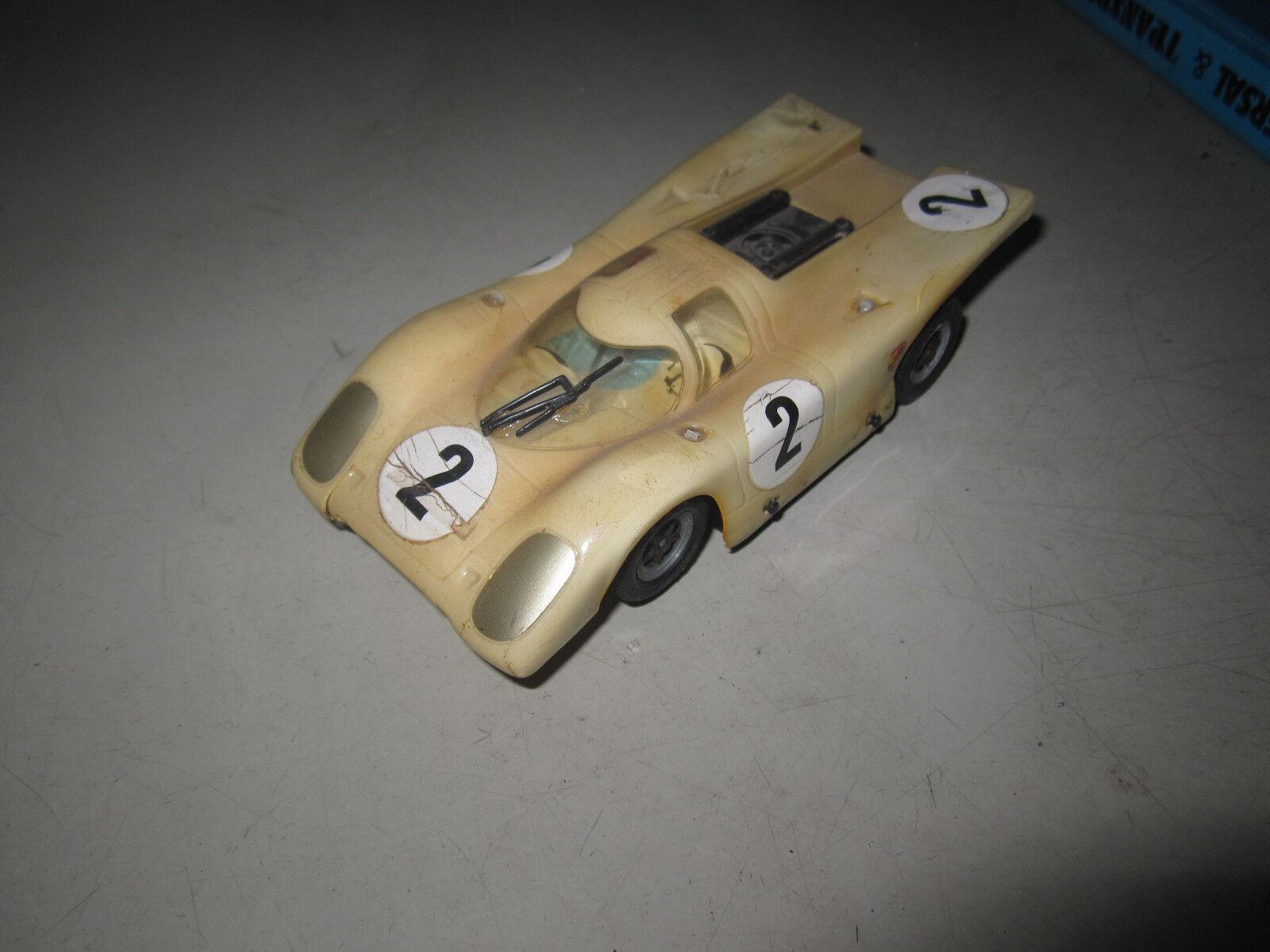 Carrera Universal 132   Porsche 917 ganz in weiß  | Lass unsere Waren in die Welt gehen