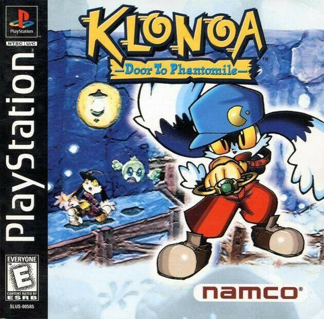 PS1 jeu - Klonoa: Door to Phantomile US dans l'emballage utilisé COMME NEUF