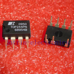 3PCS TOP248YN TO-220-6 AC//DC Converters 155 W 85-265 VAC 205 W 230 VAC