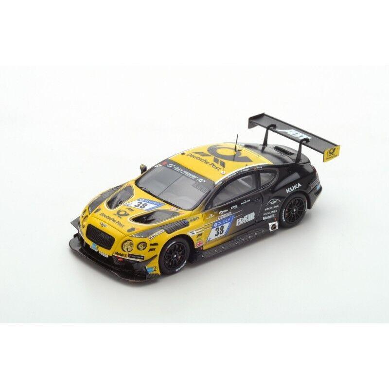 Spark sg311-bentley continental gt3 no 38 bentley 2017 abt nurburgring 1 43