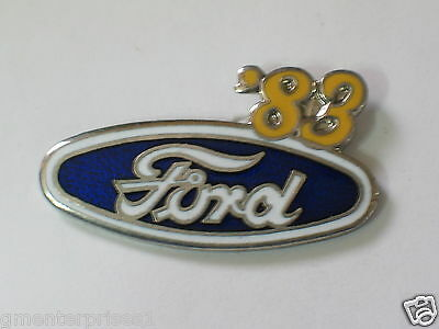Temperate 1983 Ford Pin, Auto & Motorrad: Teile Highly Polished Pins/anstecknadeln