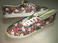 HELLO KITTY VANS Lo Pro Skate Shoes Bubble Gum Pink SNEAKERS Flats WOMENS SZ 8.5