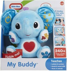 Little Tikes Fantastic Firsts My Buddy Plush With Sound 50743648564 Ebay