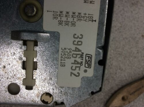 Whirlpool Kenmore Washer Timer part# 3946452
