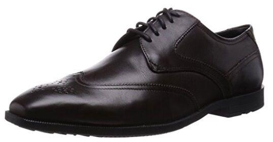 Rockport Global Road extremo de ala, Para Hombre Formales Zapatos Amargo Marrón Oscuro Chocolate Amargo Zapatos 315fcd