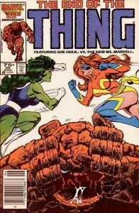 Thing-36-Direct-amp-Newsstand-Cover-Lot-2nd-Sharon-Ventura-as-Ms-Marvel
