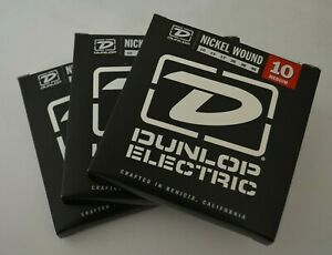 Dunlop DEN1046 Nickel Wound Electric Guitar Strings 10-46 medium gauges 10-46